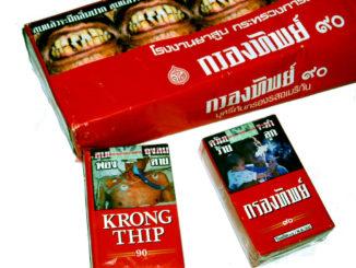 Rygning kan give fængsel i Thailand