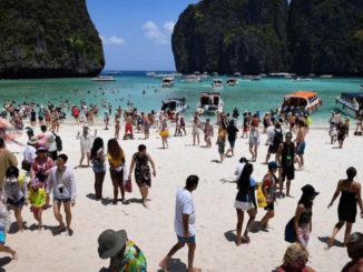 Maya Bay på Koh Phi Phi