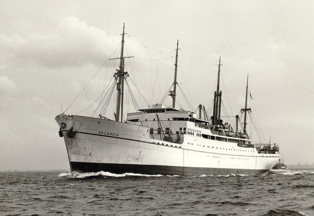 En tur med M/S Selandia til Bangkok i år 1950